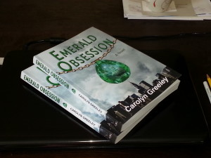 Emerald Obsession in print