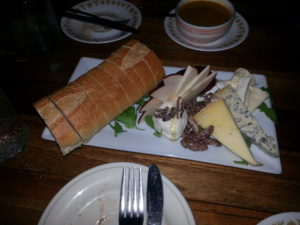 Cheese plate from The Floridian...a fave.